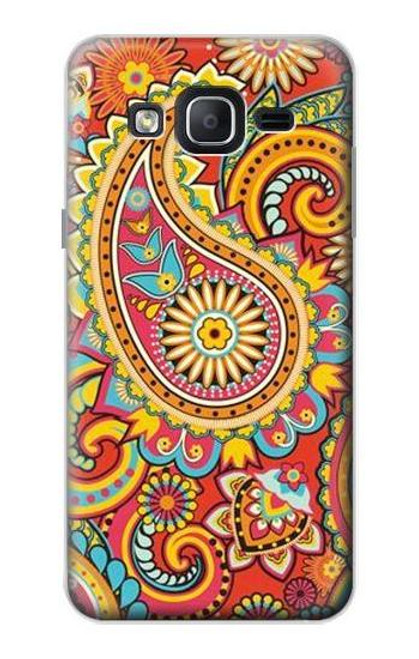 S3402 Floral Paisley Pattern Seamless Case For Samsung Galaxy On5
