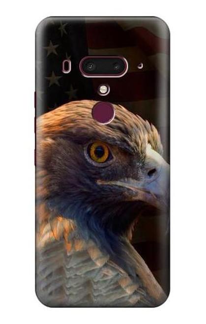 S3376 Eagle American Flag Case For HTC U12+, HTC U12 Plus