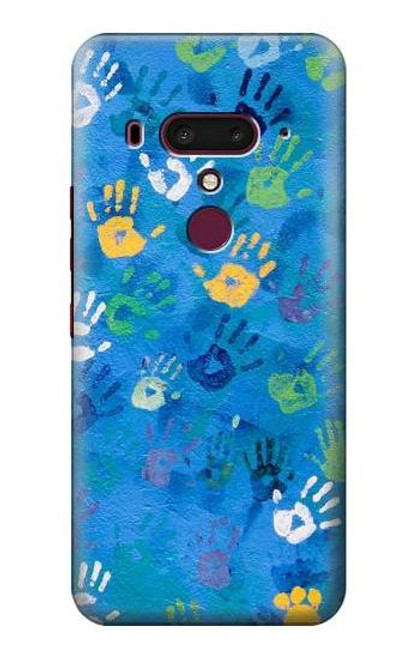 S3403 Hand Print Case For HTC U12+, HTC U12 Plus