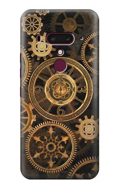 S3442 Clock Gear Case For HTC U12+, HTC U12 Plus
