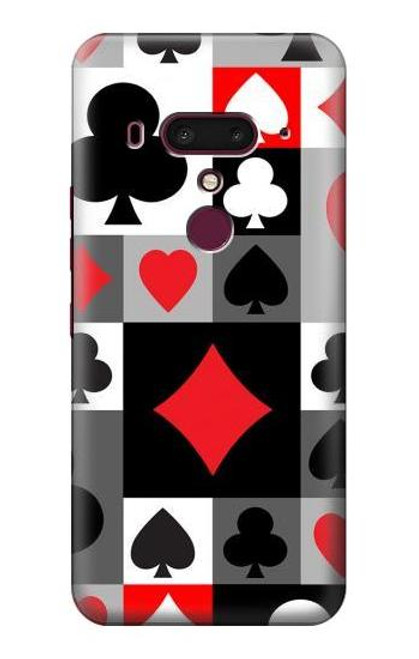 S3463 Poker Card Suit Case For HTC U12+, HTC U12 Plus