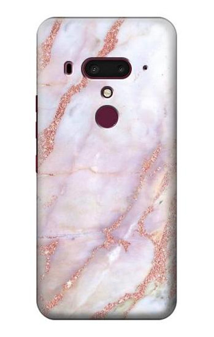 S3482 Soft Pink Marble Graphic Print Case For HTC U12+, HTC U12 Plus