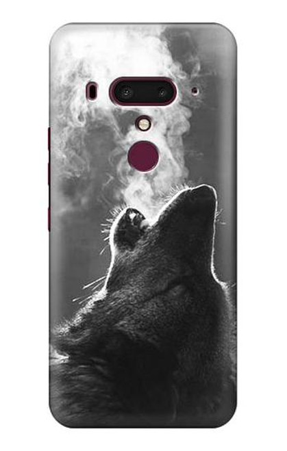 S3505 Wolf Howling Case For HTC U12+, HTC U12 Plus