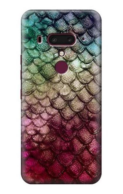 S3539 Mermaid Fish Scale Case For HTC U12+, HTC U12 Plus