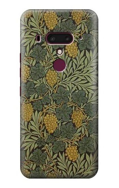 S3662 William Morris Vine Pattern Case For HTC U12+, HTC U12 Plus