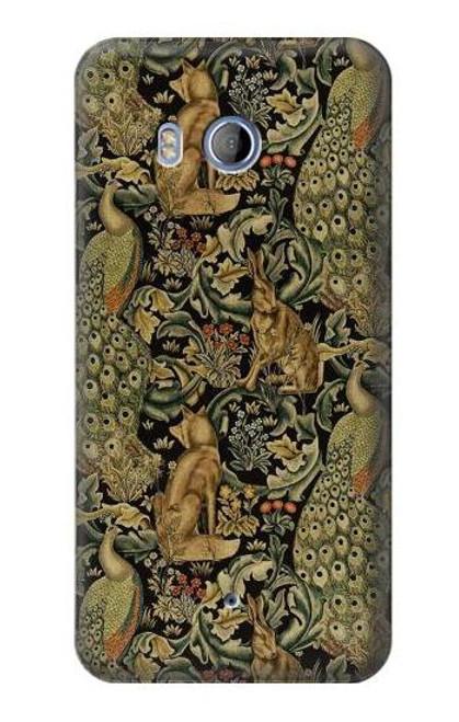 S3661 William Morris Forest Velvet Case For HTC U11