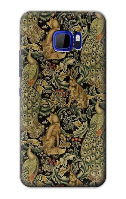 S3661 William Morris Forest Velvet Case For HTC U Ultra