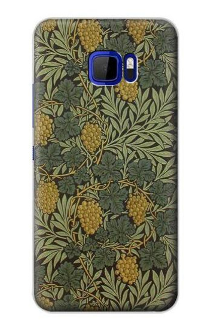 S3662 William Morris Vine Pattern Case For HTC U Ultra