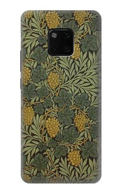 S3662 William Morris Vine Pattern Case For Huawei Mate 20 Pro