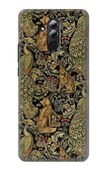 S3661 William Morris Forest Velvet Case For Huawei Mate 20 lite