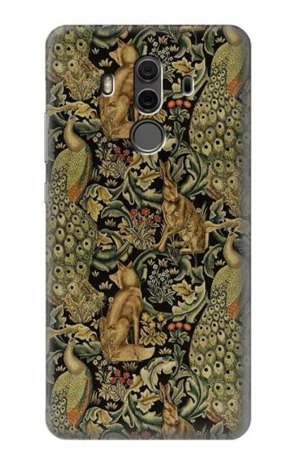 S3661 William Morris Forest Velvet Case For Huawei Mate 10 Pro, Porsche Design