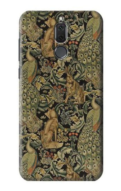 S3661 William Morris Forest Velvet Case For Huawei Mate 10 Lite