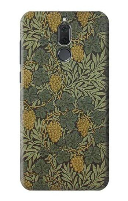 S3662 William Morris Vine Pattern Case For Huawei Mate 10 Lite
