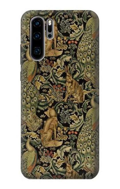 S3661 William Morris Forest Velvet Case For Huawei P30 Pro