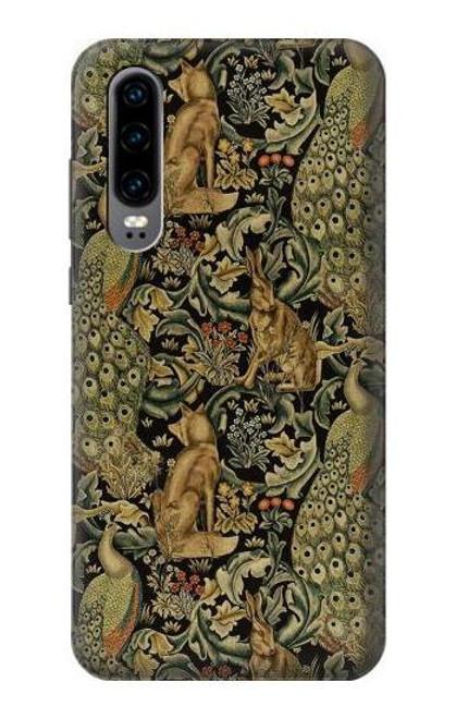 S3661 William Morris Forest Velvet Case For Huawei P30
