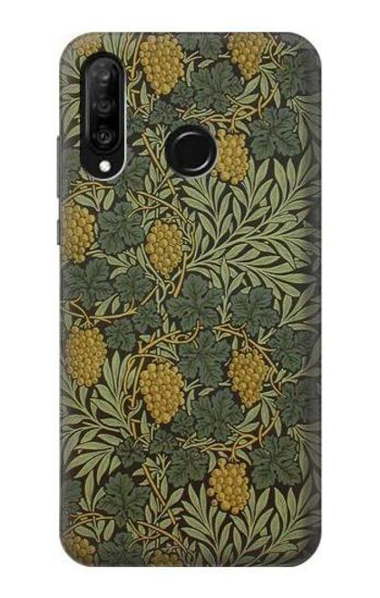 S3662 William Morris Vine Pattern Case For Huawei P30 lite