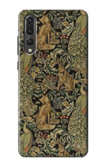 S3661 William Morris Forest Velvet Case For Huawei P20 Pro