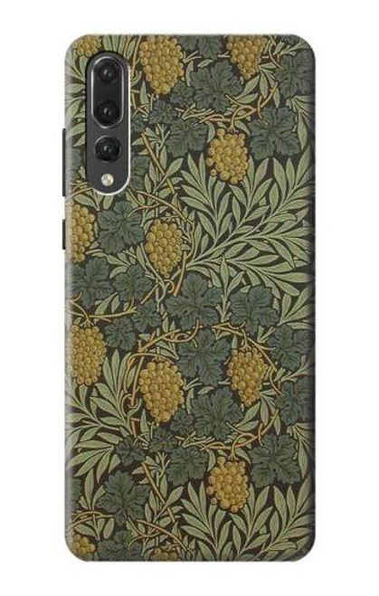 S3662 William Morris Vine Pattern Case For Huawei P20 Pro