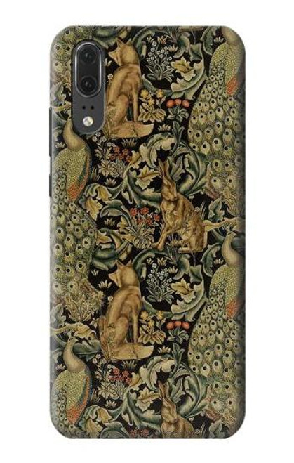 S3661 William Morris Forest Velvet Case For Huawei P20