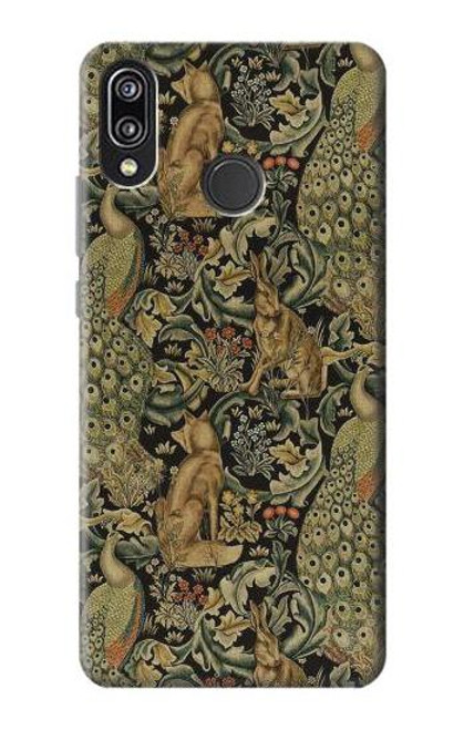 S3661 William Morris Forest Velvet Case For Huawei P20 Lite