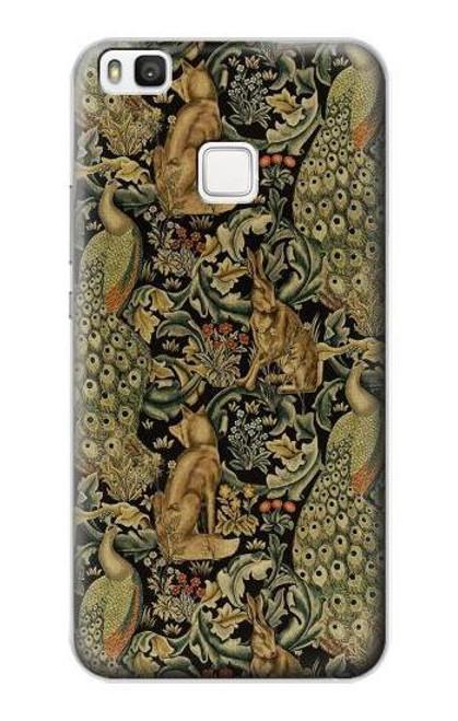 S3661 William Morris Forest Velvet Case For Huawei P10 Lite