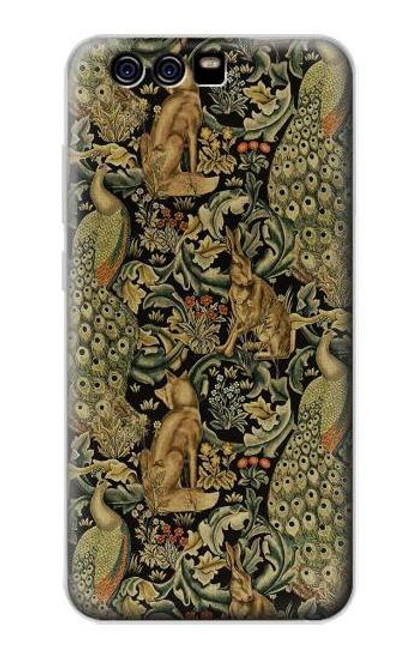S3661 William Morris Forest Velvet Case For Huawei P10