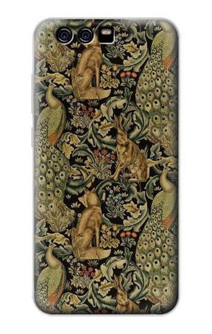 S3661 William Morris Forest Velvet Case For Huawei P10