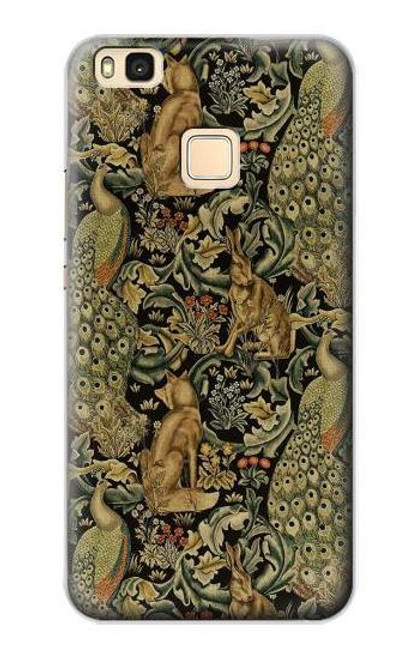 S3661 William Morris Forest Velvet Case For Huawei P9 Lite