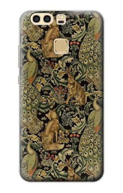 S3661 William Morris Forest Velvet Case For Huawei P9