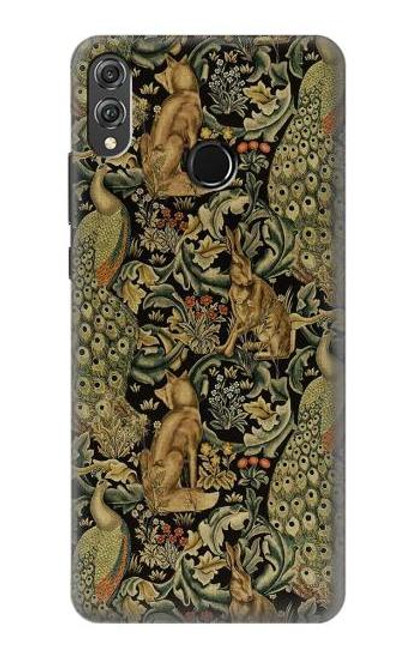 S3661 William Morris Forest Velvet Case For Huawei Honor 8X