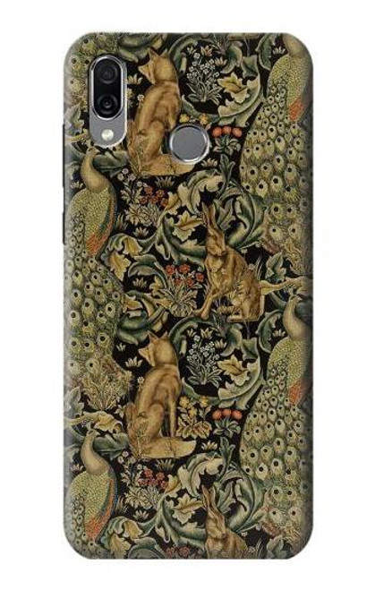 S3661 William Morris Forest Velvet Case For Huawei Honor Play