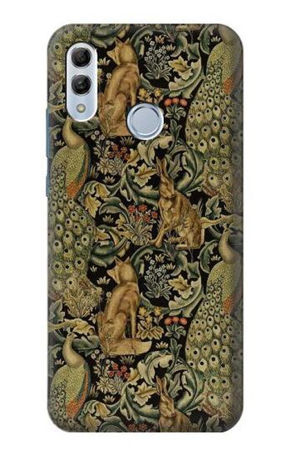 S3661 William Morris Forest Velvet Case For Huawei Honor 10 Lite, Huawei P Smart 2019