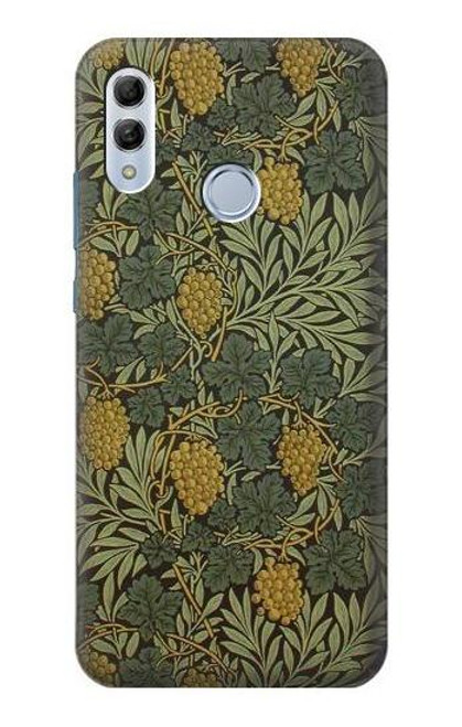 S3662 William Morris Vine Pattern Case For Huawei Honor 10 Lite, Huawei P Smart 2019