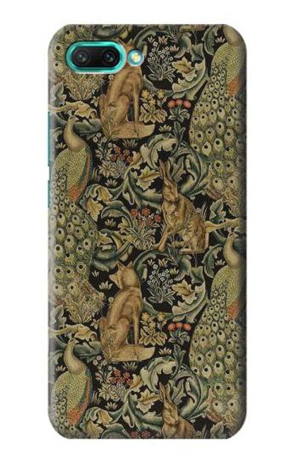 S3661 William Morris Forest Velvet Case For Huawei Honor 10