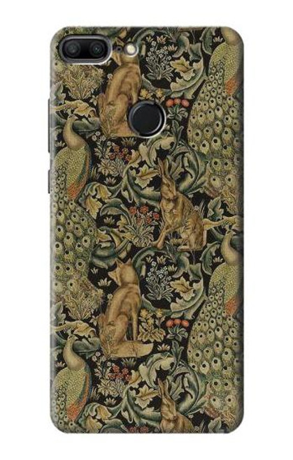 S3661 William Morris Forest Velvet Case For Huawei Honor 9 Lite