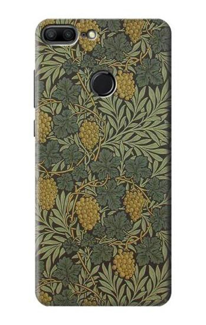 S3662 William Morris Vine Pattern Case For Huawei Honor 9 Lite