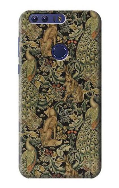 S3661 William Morris Forest Velvet Case For Huawei Honor 8