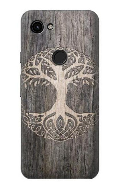 S3591 Viking Tree of Life Symbol Case For Google Pixel 3a
