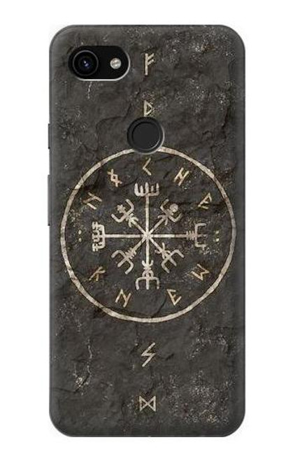 S3413 Norse Ancient Viking Symbol Case For Google Pixel 3a XL