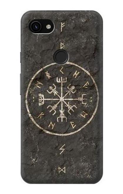 S3413 Norse Ancient Viking Symbol Case For Google Pixel 3a XL