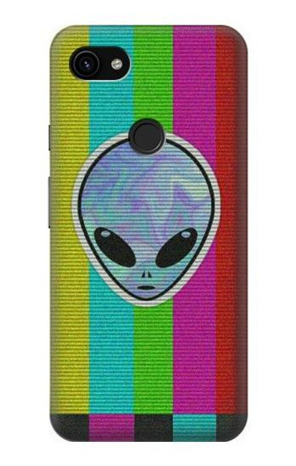 S3437 Alien No Signal Case For Google Pixel 3a XL