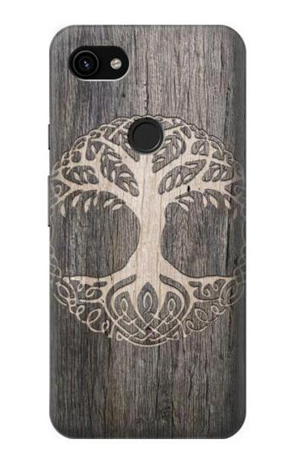 S3591 Viking Tree of Life Symbol Case For Google Pixel 3a XL