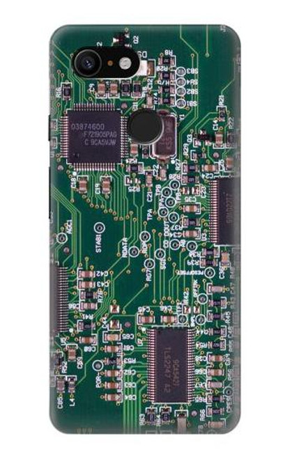 S3519 Electronics Circuit Board Graphic Case For Google Pixel 3