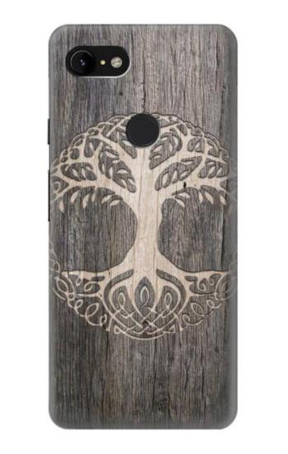 S3591 Viking Tree of Life Symbol Case For Google Pixel 3 XL