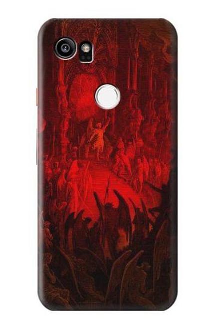 S3583 Paradise Lost Satan Case For Google Pixel 2 XL