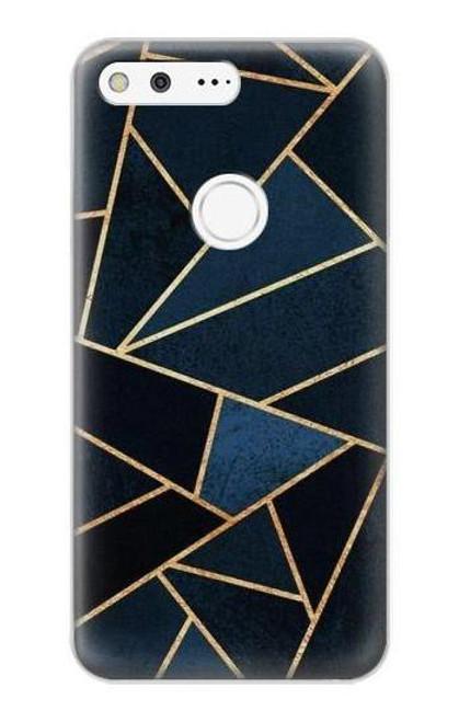S3479 Navy Blue Graphic Art Case For Google Pixel XL