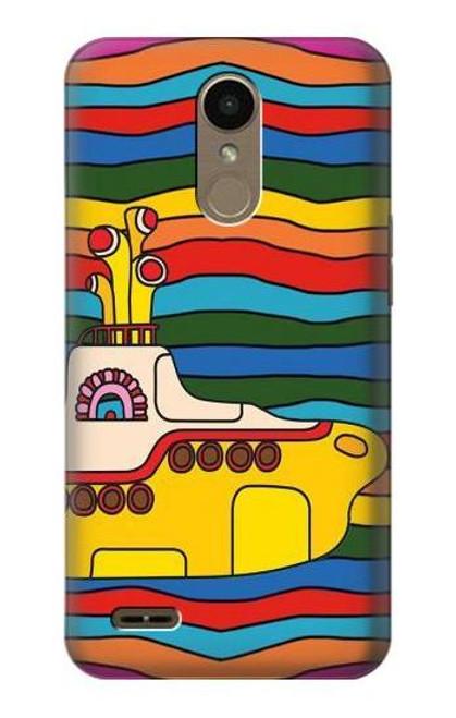 S3599 Hippie Yellow Submarine Case For LG K10 (2018), LG K30