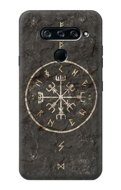 S3413 Norse Ancient Viking Symbol Case For LG V40, LG V40 ThinQ