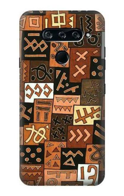 S3460 Mali Art Pattern Case For LG V40, LG V40 ThinQ
