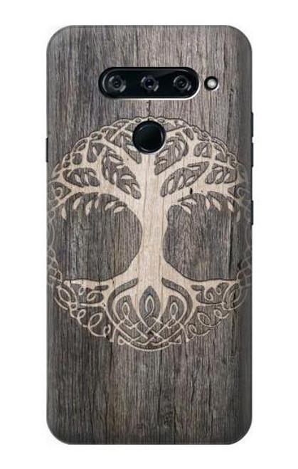 S3591 Viking Tree of Life Symbol Case For LG V40, LG V40 ThinQ
